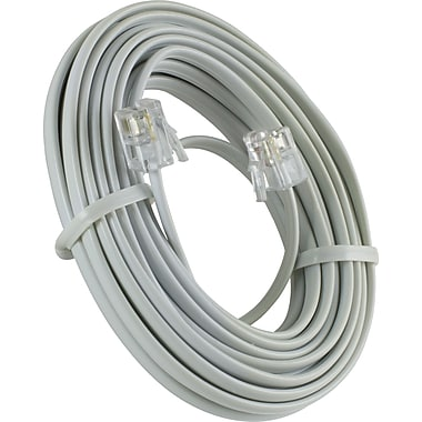 Power Gear Telephone Line Cord, (15 ft.) 76192