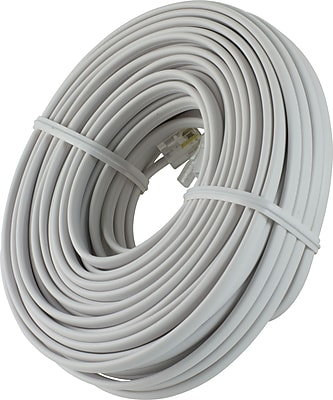 GE Cord Management, GE Line Cord, 50 Ft, White