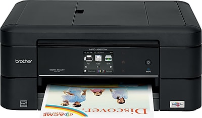 Brother MFCJ680DW Compact Wireless Multifunction Color Inkjet Printer with Duplex Printing and Easy Wireless Setup
