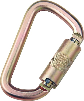 DBI/Sala® Saflok® Steel Carabiner, 3600 lbs., 11/16