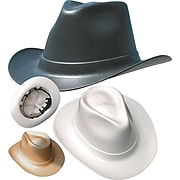 OccuNomix Cowboy Style Hard Hat with Ratchet Suspension, Tan