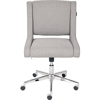 armless casters office chair