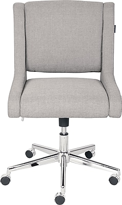 Broyhill Lynx Fabric Home Office Chair, Oatmeal Color