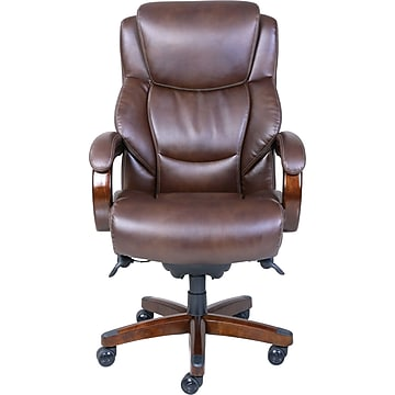 La-Z-Boy Delano Big and Tall ComfortCore Traditions Executive Office Chair - Chestnut (Brown)