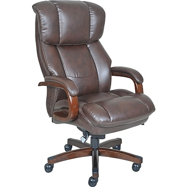 La Z Boy Fairmont And Tall Comfortcore Traditions Executive Office Chair Biscuit