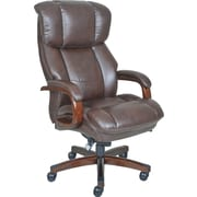 La-Z-Boy Fairmont Big and Tall ComfortCore Traditions Executive Office Chair - Biscuit (Brown)