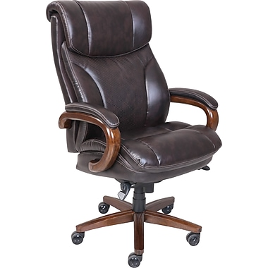 La Z Boy Trafford And Tall Comfortcore Traditions Air Technology Executive Office Chair