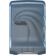 San Jamar® Large Capacity Ultrafold™ Towel Dispenser, Transparent Arctic Blue, Each (T1790TBL)