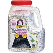 Bare Ground, Calcium Chloride Pellets with Traction Granules, 7 lb. Shaker Jug, 4/Ct, (CCPSG-12CT)