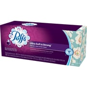 Puffs® Ultra Soft & Strong Facial Tissues, 2-Ply, 56 Sheets/Bx