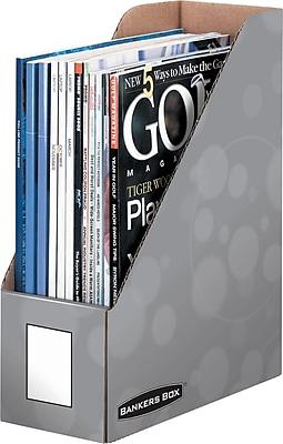 Bankers Box® Water Drop Magazine File Storage, 9
