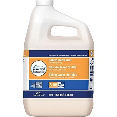 Febreze® Professional Fabric Refresher & Odor Eliminator, Fresh Clean, 1 gal., 3/CT Case
