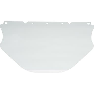 MINE SAFETY APPLIANCES CO. (MSA) Polycarbonate Face Shield, Extended PC Flat