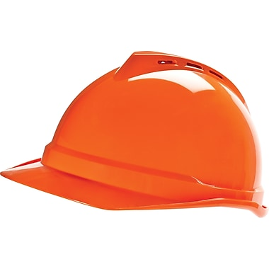 MINE SAFETY APPLIANCES CO. (MSA) Polyethylene V-Gard Vented Hard Cap