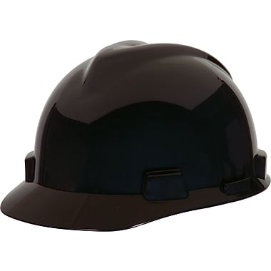 MINE SAFETY APPLIANCES CO. (MSA) Polyethylene & Plastic Hard Hat, Gray