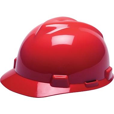 MINE SAFETY APPLIANCES CO. (MSA) Polyethylene V-Gard Cap Standard, Red
