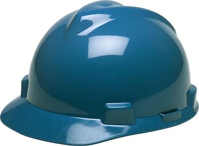 MINE SAFETY APPLIANCES CO. (MSA) Polyethylene V-Gard Cap Standard, Blue