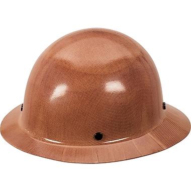 MINE SAFETY APPLIANCES CO. (MSA) Phenolic Protective Hard Hat, Natural Tan