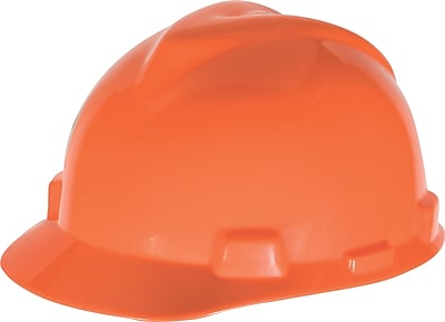 MINE SAFETY APPLIANCES CO. (MSA) Polyethylene Slotted Style Hard Cap Large