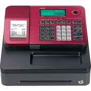 Casio SES100SCRD Cash Register, Red