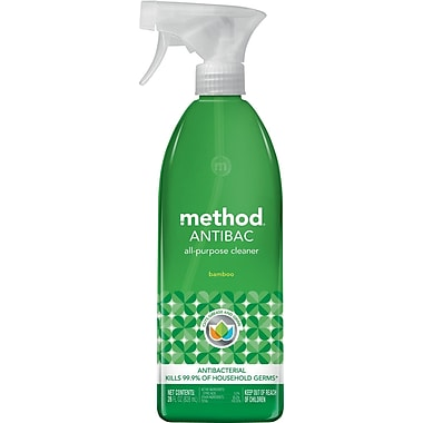 Method® Antibacterial All Purpose Cleaner, Bamboo, 28oz