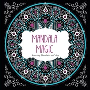"Barron's ""Mandala Magic:  Amazing Mandalas to Color"" Adult Coloring Book"