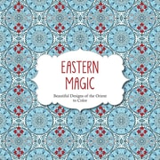 "Barron's ""Eastern Magic:  Beautiful Designs of the Orient to Color"" Adult Coloring Book"