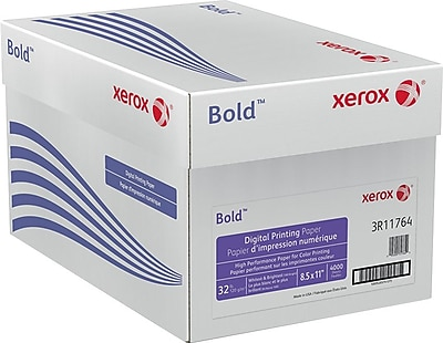 Xerox® Bold™ Digital Printing Paper, 32 lb. Text, 8 1/2