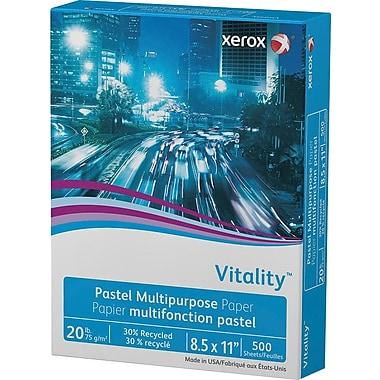 """Xerox® Vitality™ Pastel Multipurpose Paper, Pink, 8 ½"""" x 11"""", Ream"""