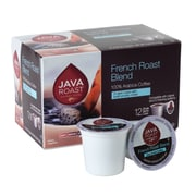 Java Roast Single Serve Cup Coffee, French Roast, 12pk