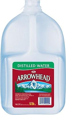 Arrowhead Brand Distilled Water, 1-Gallon Plastic Jug (3241612)