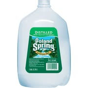 Poland Spring Distilled Water, 1-gallon Plastic Jug, 6/Case