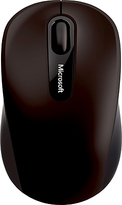 Microsoft Bluetooth Mobile Mouse 3600, BlueTrack Bluetooth Wireless Mouse, Black (PN7-00001)