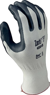 Best Manufacturing Company White & Gray Light Fabrication 1 Pair Coated Glove, M