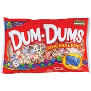 Dum-Dums® Lollipops, Assorted Flavors, 300/Pk