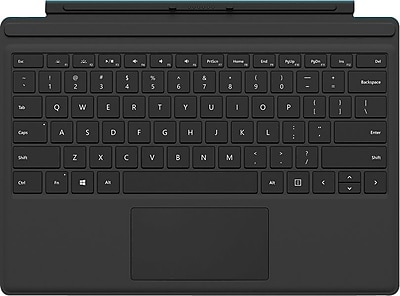 Microsoft Surface QC7-00001 Pro 4 Type Cover, Black