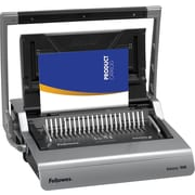 Fellowes Galaxy 500 Manual Comb Binding Machine with Starter Kit by