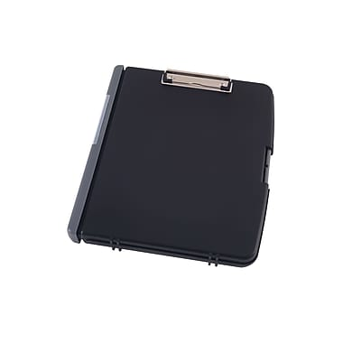Staples® Clipboard Document Case, Black, 12