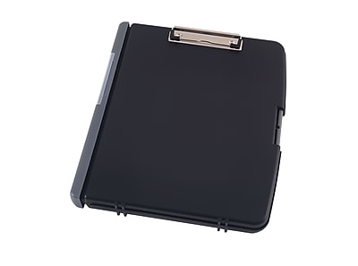 Staples® Clipboard Document Case, Black, 12