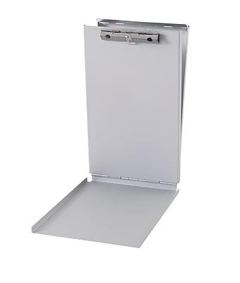 Staples® Aluminum Clipboard, Memo, Silver, 10