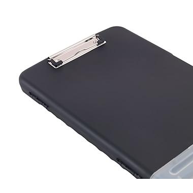 Staples® Clipboard Storage Box, Black, 10