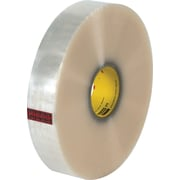"3M #372 Hot Melt Packing Tape, 2""x1000 yds., Clear, 6/Case"