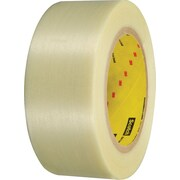 "3M™ 898 Strapping Tape, 3"" x 60 yds., Clear, 3/Case"