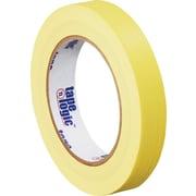 """Tape Logic® Masking Tape, 3/4"""" x 60 yds., Yellow, 48/Case"""