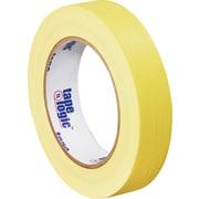 """Tape Logic® Masking Tape, 1"""" x 60 yds., Yellow, 36/Case"""