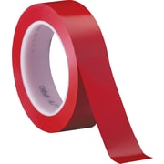 "3M™ 471 Vinyl Tape, 1"" x 36 yds., Red, 36/Case"