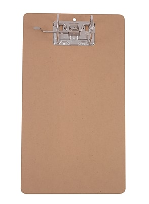 Staples® ArchBoard Clipboard, Legal, Brown, 9