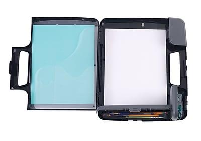 Staples® Portable Clipboard, Heavy Duty, Black, 11 3/4