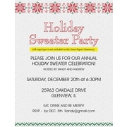 Great Papers® Holiday Stationery Holiday Stitch, 80/Count