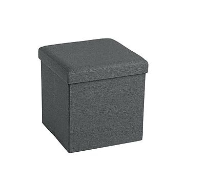 Poppin Box Seat, Dark Gray (101559)